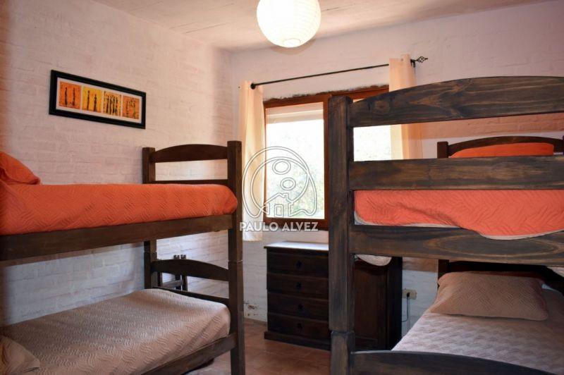 Dormitorio con 4 plazas