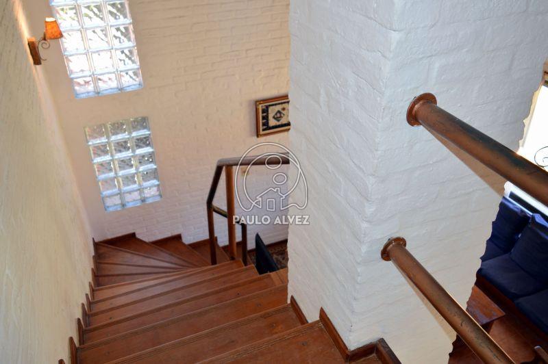 Vista a la escalera
